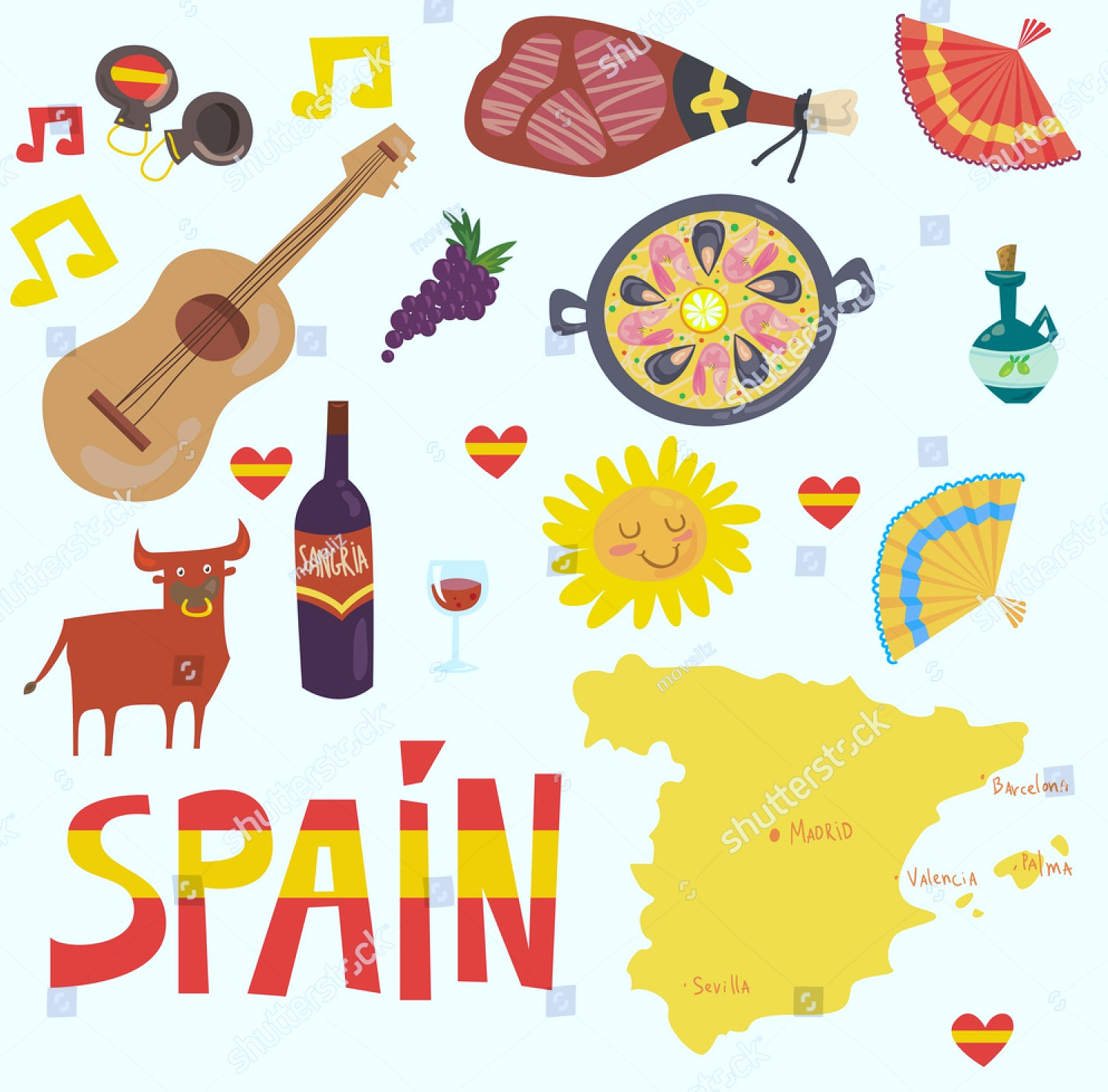 how to say spain in spanish
